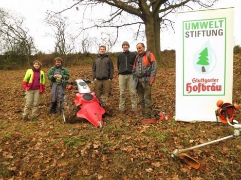 AEBI Gerätespende Umweltstiftung Hofbräu