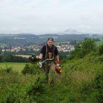 Llandschaftspflege am Zuckerhütle, Foto: Josef Ziller