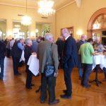 Mittagspause in der Musikhalle, Foto: S. Wächter
